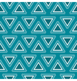 Tribal blue seamless pattern vector image vector image