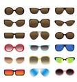 Sunglasses set - 1 vector image