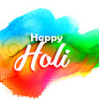 abstract colorful holi festival background vector image vector image