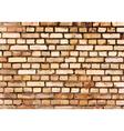 Brick wall detail texture vector image