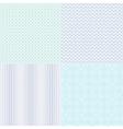 guilloche wavy textures for diplomas vector image vector image
