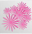 paper flower origami33 vector image vector image