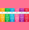 romantic talk love gift and valentine icons set vector image vector image