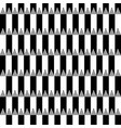 seamless pattern with pencils black and vector image