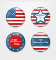 set badge and labels isolated on white background vector image vector image
