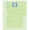 USA Idaho Montana Smal vector image vector image