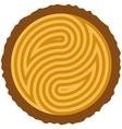wooden log cut vector image vector image