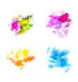 abstract watercolor spots vector image