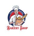 baker man logo design