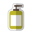 bottle cream spa product vector image
