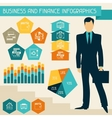 Business and finance infographics vector image