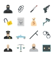 Cleaning flat icons vector image vector image