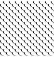Fish scales seamless texture vector image vector image