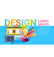 graphic web design creative designer work vector image