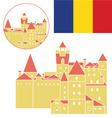 Romania vector image