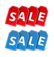 Sale Banners vector image vector image