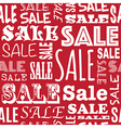 sale pattern vector image vector image