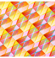 abstract colorful mosaic background vector image vector image