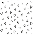 Abstract triangle ink imitation seamless pattern vector image