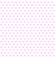 background of pink hearts vector image vector image