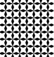 Black white seamless rhombus pattern background vector image vector image