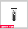 lab bulb icon vector image