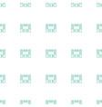 loud speaker set icon pattern seamless white vector image vector image