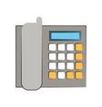 office landline phone icon image vector image vector image