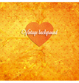 Rustic Valentines Day Card vector image vector image