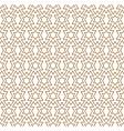 seamless pattern in lite brown geometric lines vector image