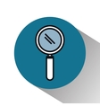 search magnifying glass isolated icon vector image vector image