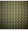 Abstract flower seamless pattern tiling vector image