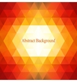 Abstract triangles pattern background Colorful vector image