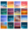 blurred nature abstract backgrounds vector image