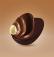 Chocolate shells vector | Price: 1 Credit (USD $1)