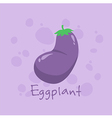 Eggplant Vegetable vector image vector image