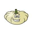 Happy cartoon pumpkin vector image vector image