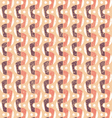 Pattern in retro style vector image vector image