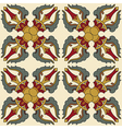 Seamless Vajra tibetan pattern vector image vector image