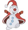 Christmas Snowball vector image