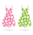 dresses color vector image
