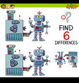 educational differences game vector image vector image