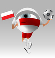 Football poland fan eyeball