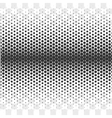 Gradient Dotted Background on Transparent vector image vector image