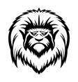 head a monkey vector image vector image