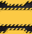 industrial metal technology background danger vector image
