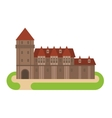 Castle cartoon vector image vector image
