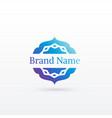 clean arabic style logo design template