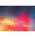 colorful polygonal abstract background vector image vector image