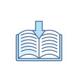 download ebook school education learning line and vector image